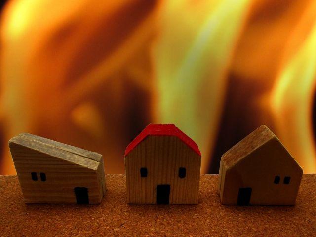 通電火災のイメージ