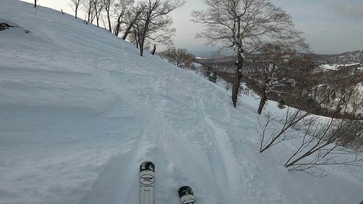 初級から非圧雪のエキスパートコースまで朝里エリアがキロロ最大のエリア