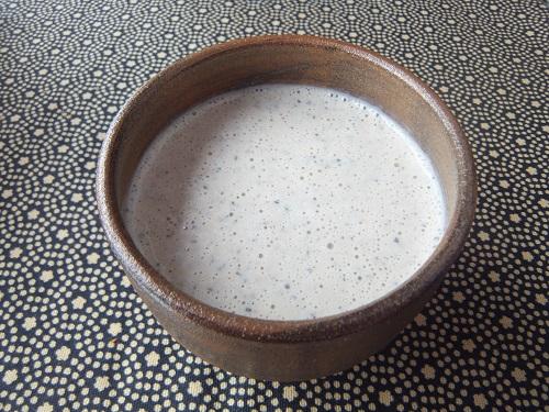 黒豆と豆乳のスムージー