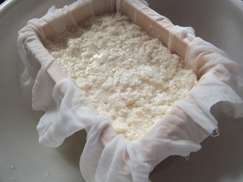 豆腐づくりの過程