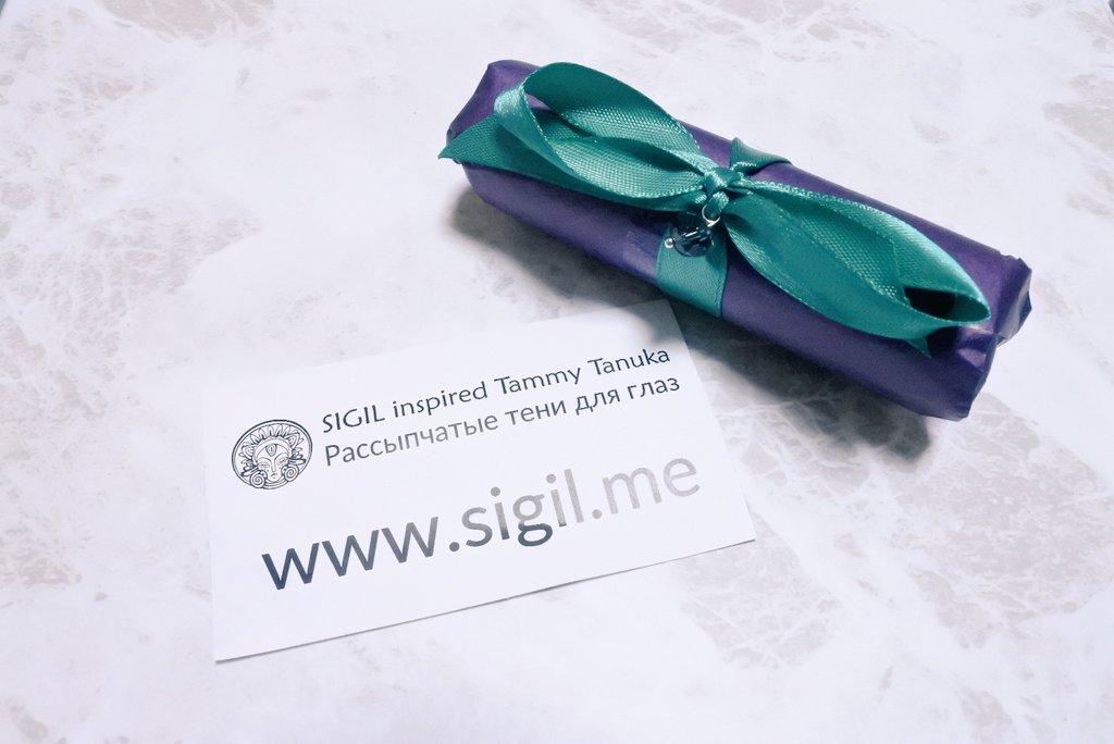 SIGIL inspiredの粉が包装されている写真