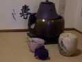 2010.5.5茶道のお稽古 結び袱紗