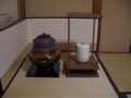 2010.7.14茶道のお稽古 棚
