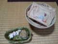 2010.10.13茶道のお稽古 お干菓子