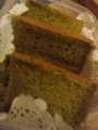 Nさんの抹茶シフォンケーキ