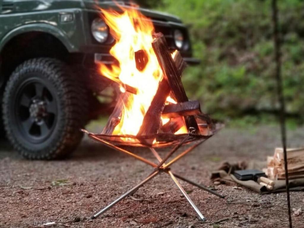 キャンプの醍醐味 焚き火