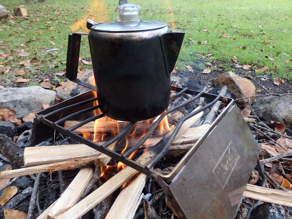 パーコレーター お湯を沸かす