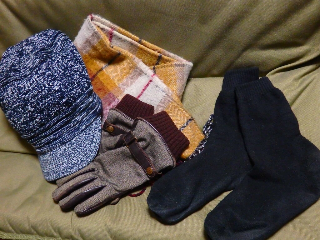 帽子 マフラー 手袋 靴下