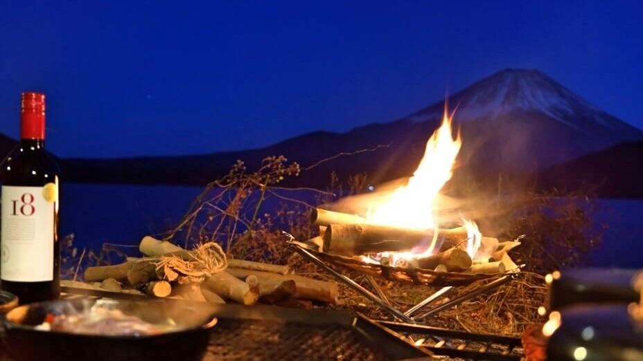 キャンプ飯 キャンプの夜