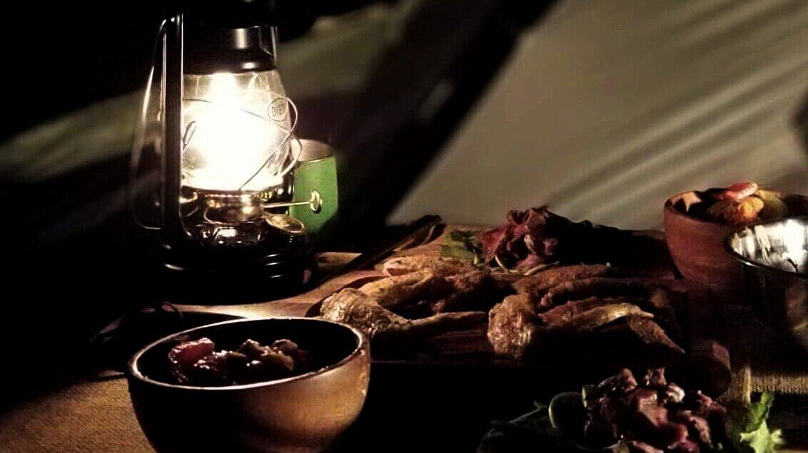 ワインに合うキャンプ飯 キャンプの夜
