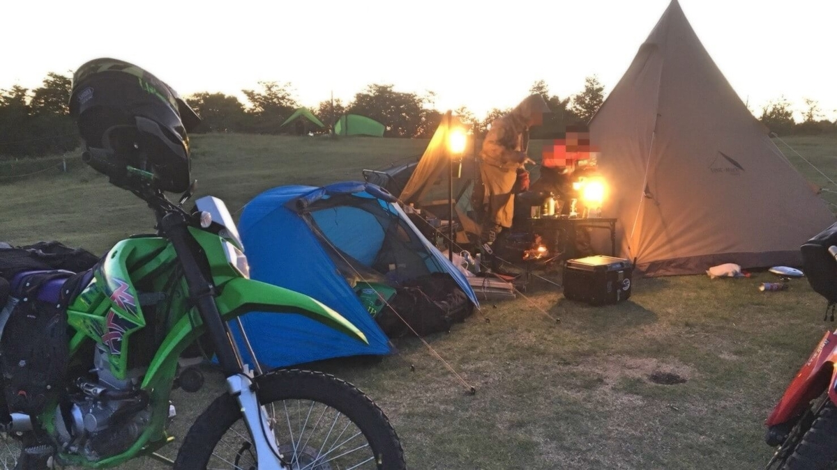 グループキャンプ バンドック テント