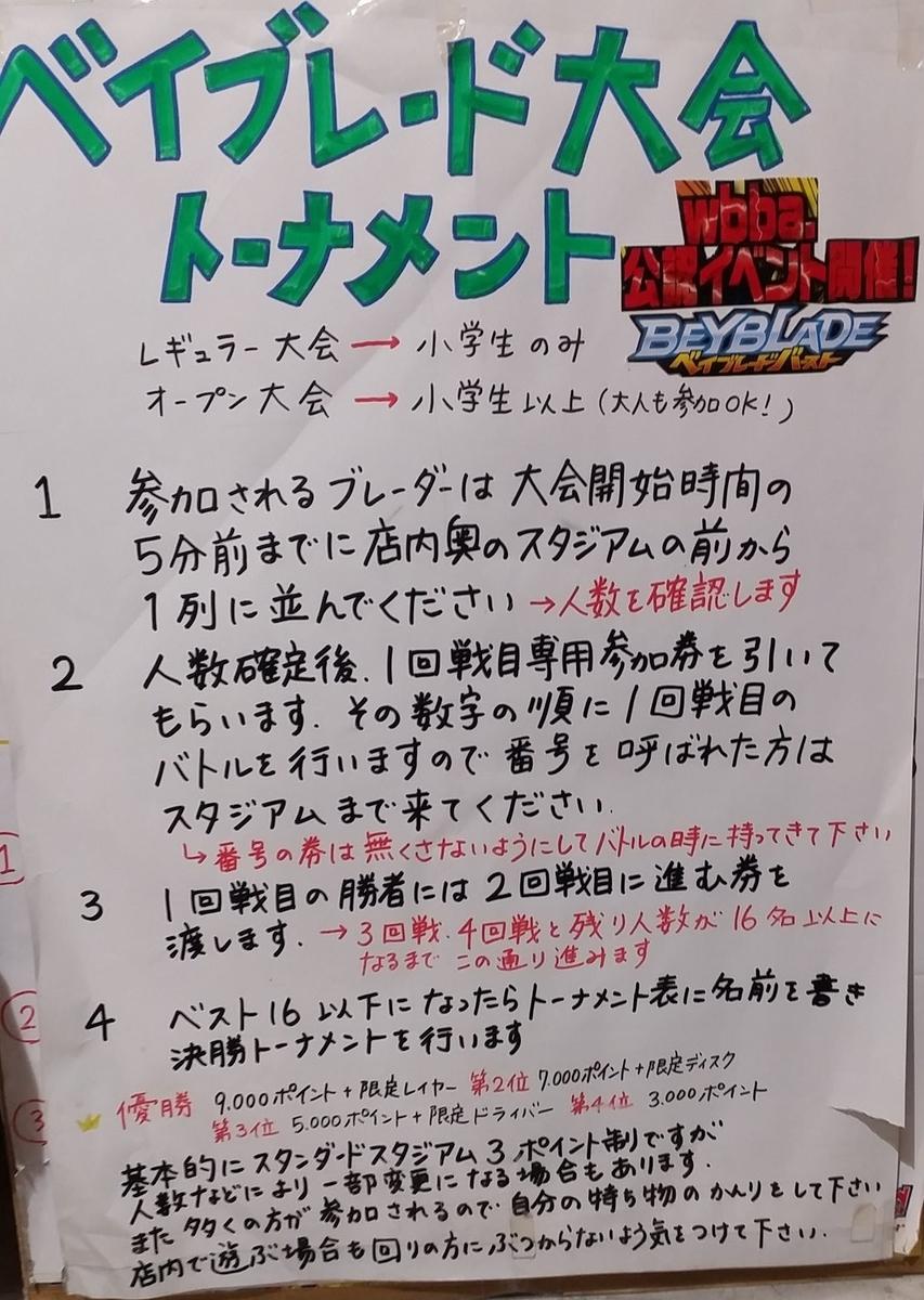G4トーナメント ルール