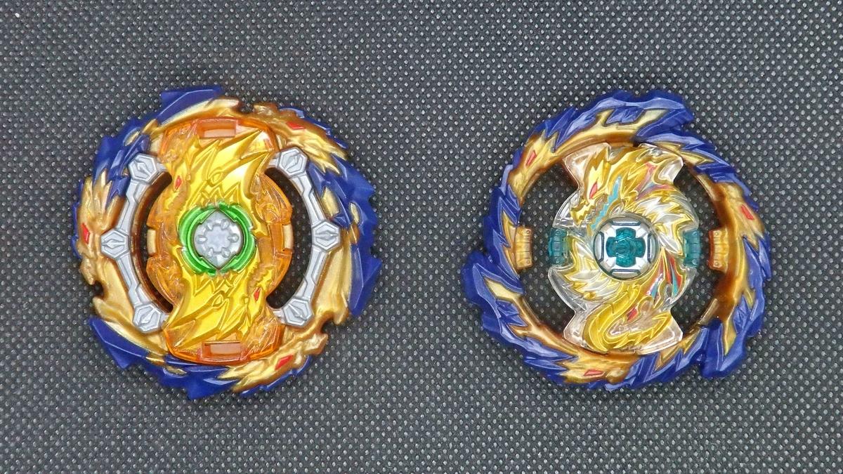 左:ウィザードファブニル 閃 右:ミラージュファブニル