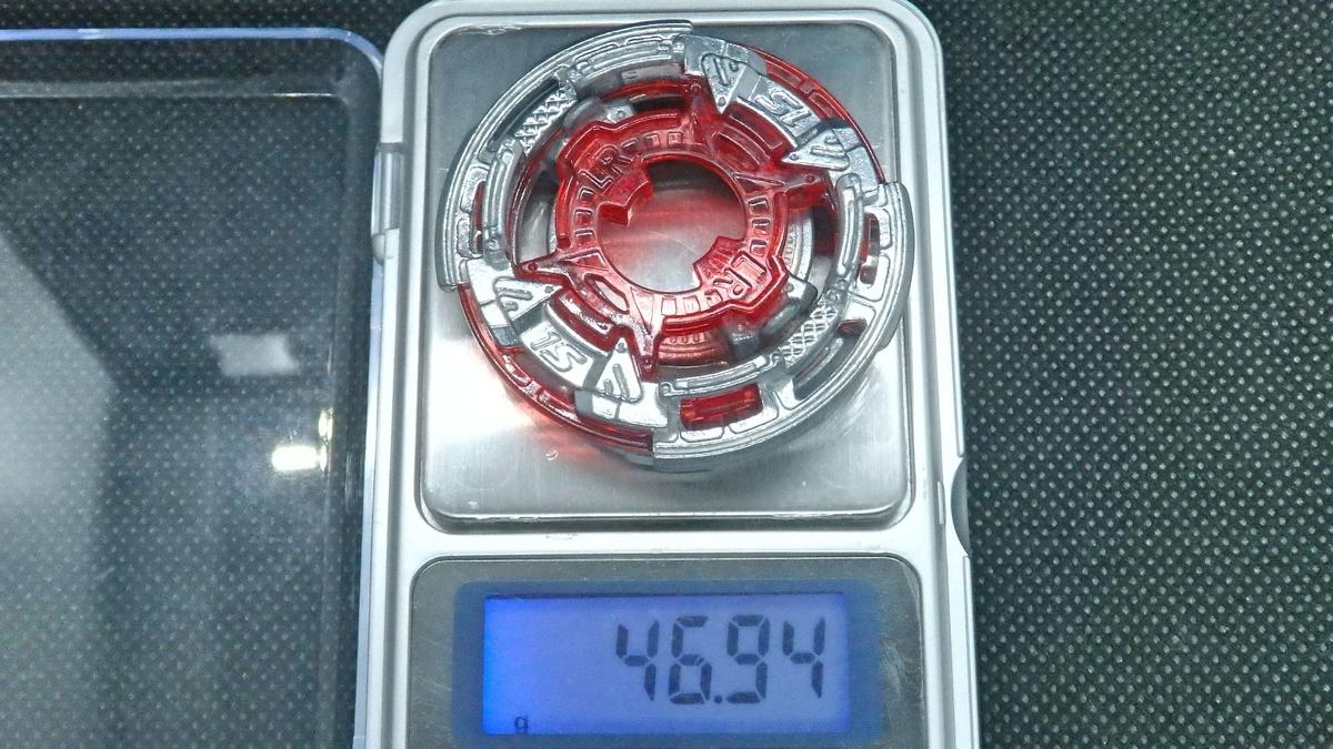 Wh(ホイール)ディスクと1S(ワンエス)シャーシの重量