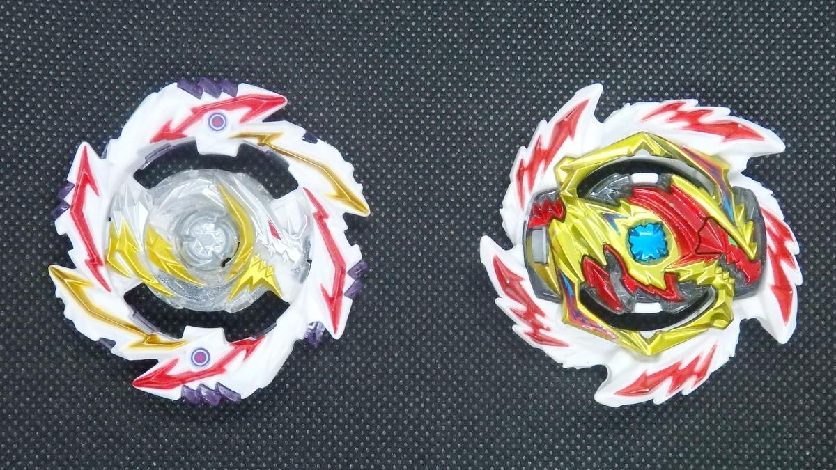 左:アビスディアボロス 右:イレイズディアボロス