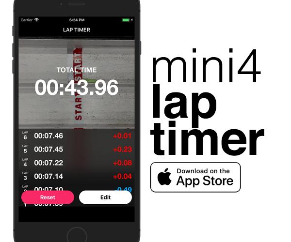 Mini4 Lap Timer