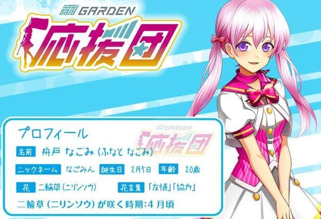 新!ガーデン板橋店の応援キャラクター