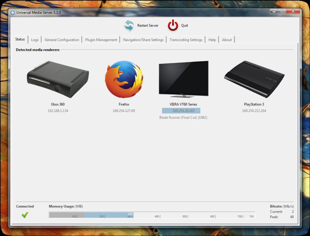 PC内の動画や音楽をPS4やスマホで再生できる「Universal Media Server」PS3 Media