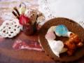 [スイーツデコ][パフェ][チョコチップ][アイス][ポッキー][苺][ストラップ][クッキー][クマ][バラ]Order2011-WK_1
