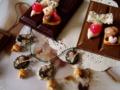 [スイーツデコ][板チョコ][ワッフル][アイス][さくらんぼ][リボン][鏡][クロワッサン][エッフェル塔][バラ]RentalBox-201110