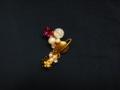 [アクセサリー][土星][スワロフスキー][クラック水晶][イヤリング]RentalBox-201411_26