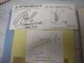 彩音さん、佐藤ひろ美さん、いとうかなこさんサイン(A-POP Generation)