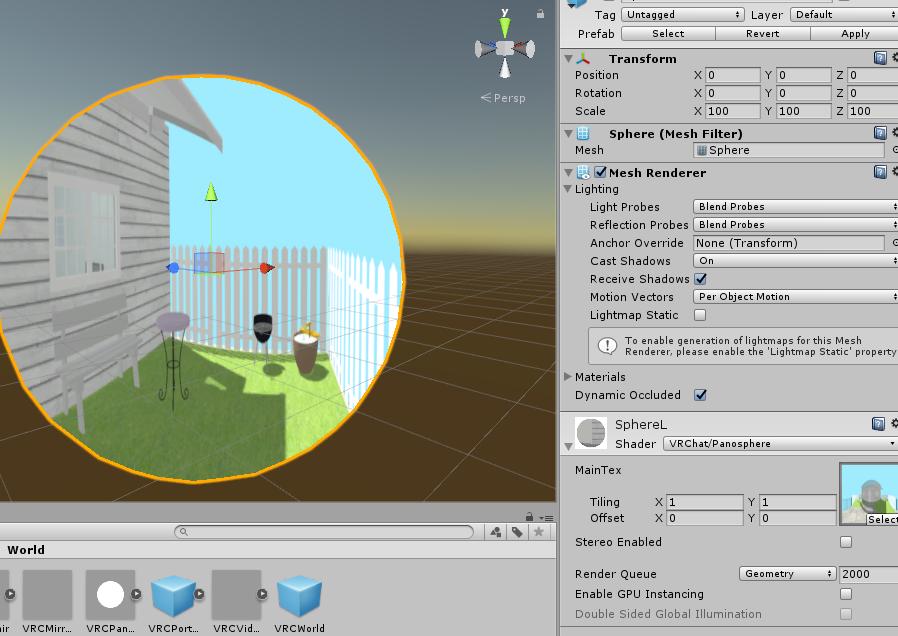 VRChat】オリジナルワールドを作る【Unity】 - トマシープが学ぶ