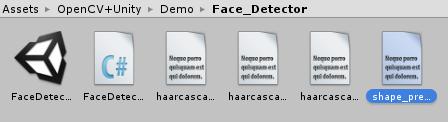 OpenCV plus Unityのデモを使ってみる - トマシープが学ぶ