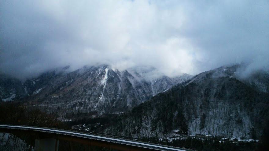 奥飛騨の山