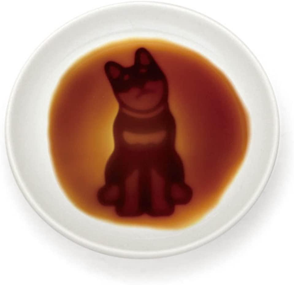 イヌ 醤油皿