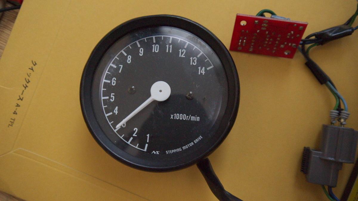 メーター タコ カブ用LCDスピード&タコメーター