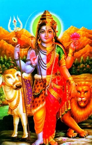 両性具有のシヴァ神