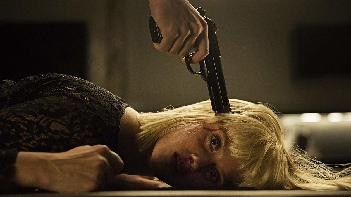 特捜部Qキジ殺し_銃を突きつけられるキミー