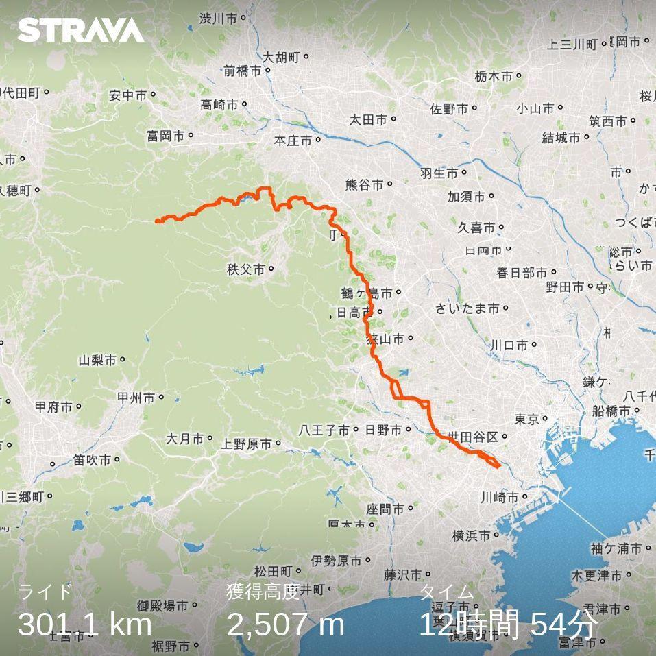 BRM518東京300神流川