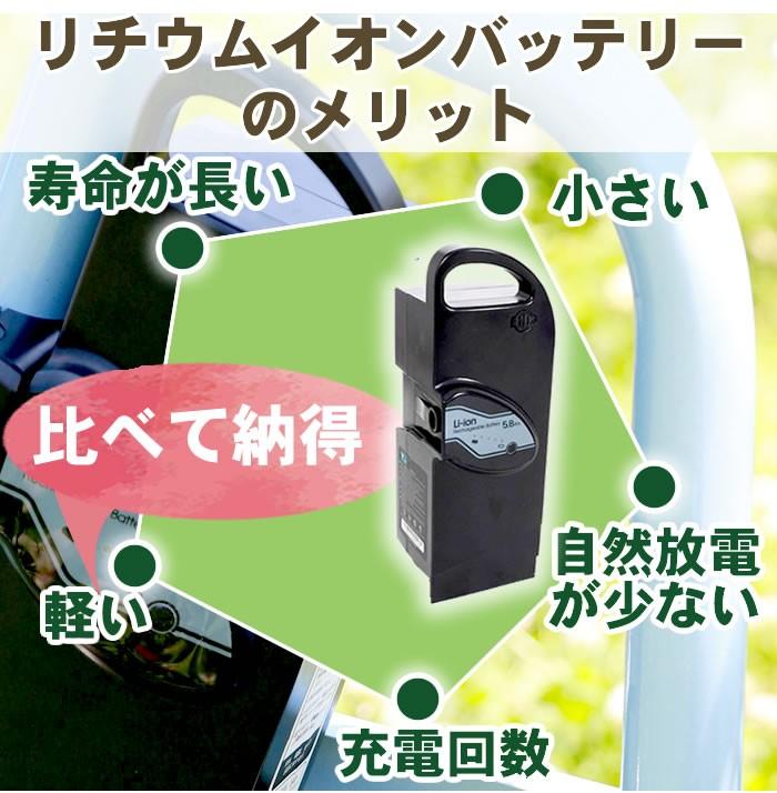リチウムイオンバッテリーのメリット