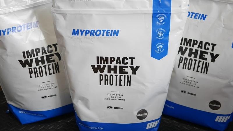 myprotein impact whey non flavor