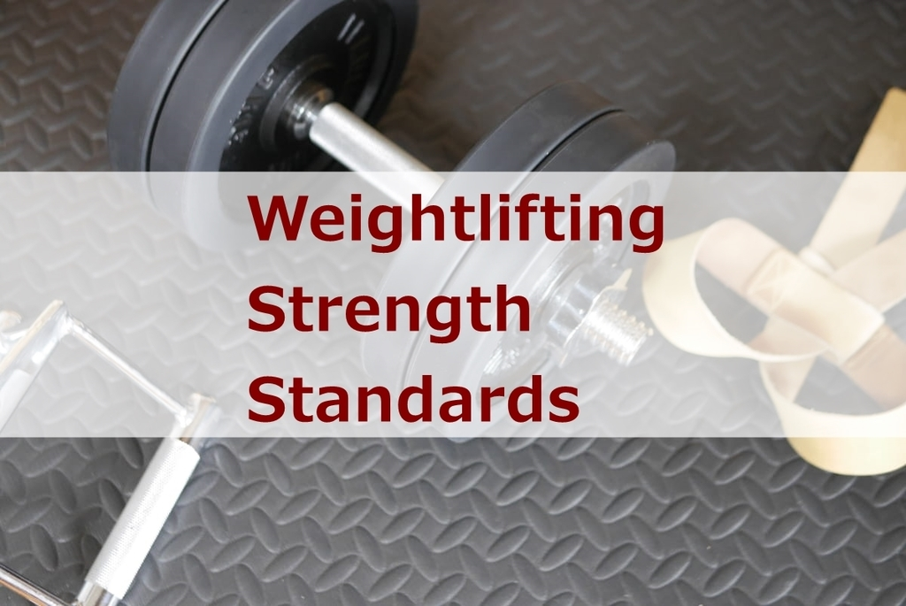 Weightlifting Strength Standards