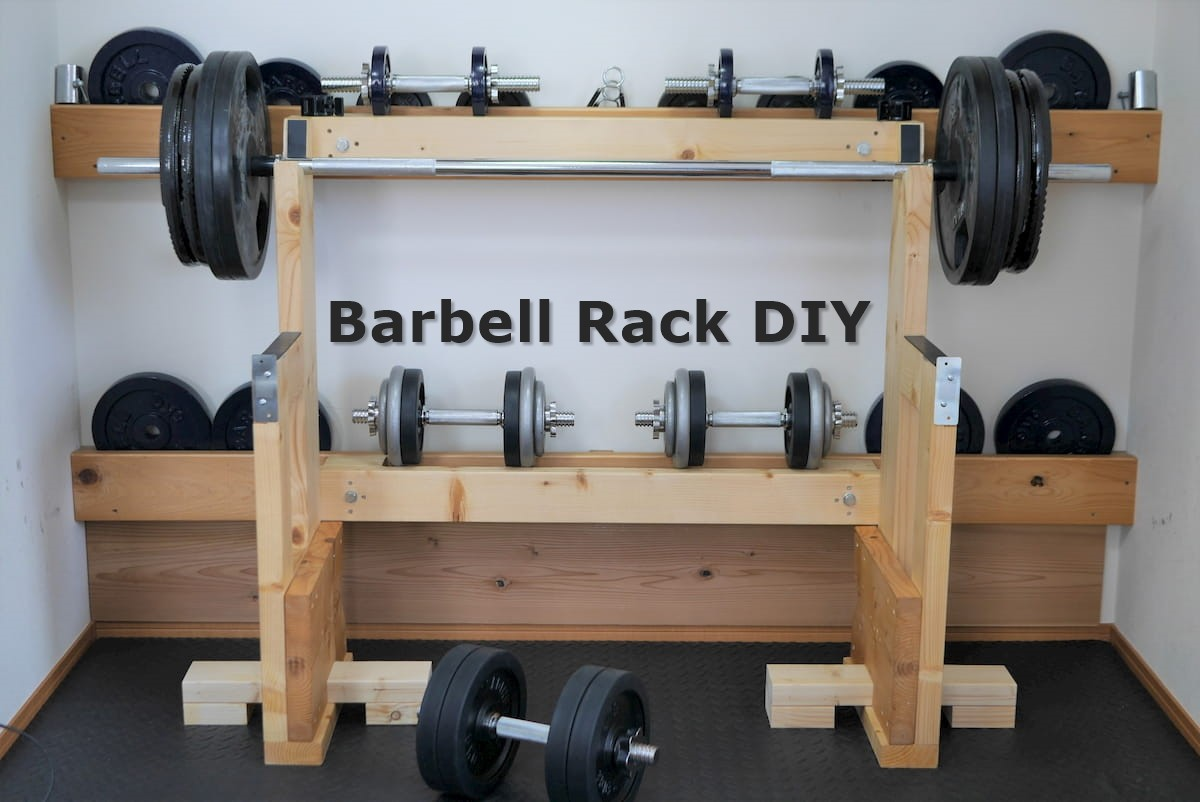 Barbell Rack DIY