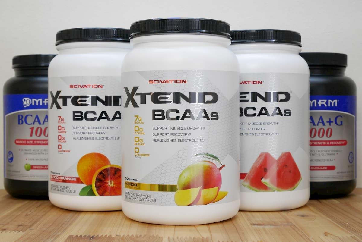 BCAAサプリメントのボトル