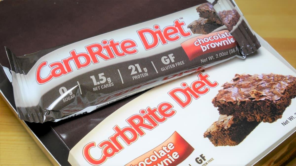 CarbRite Diet chocolate brownie