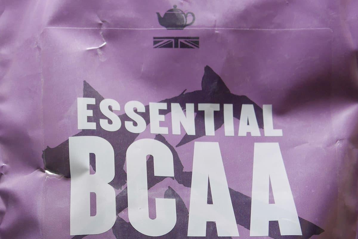 BCAA アールグレイのパッケージ