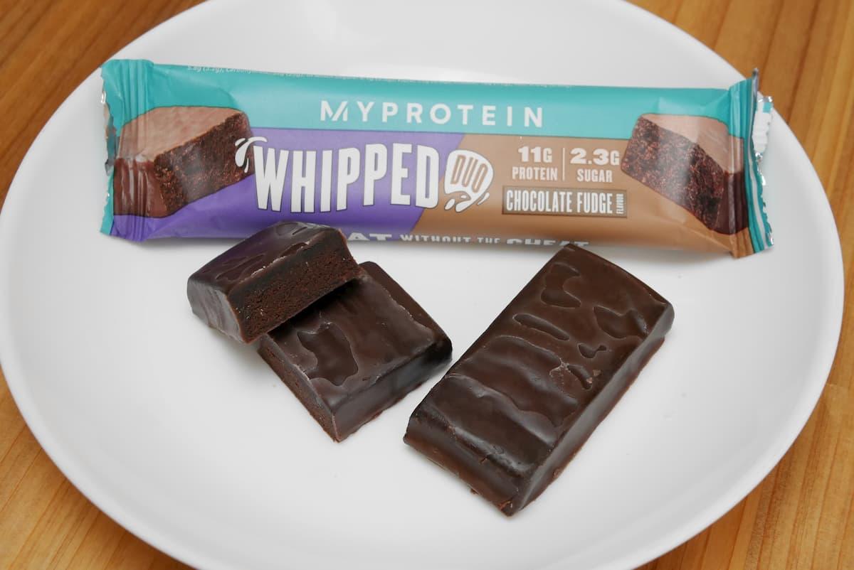 ホイップドデュオ チョコレートファッジの中身