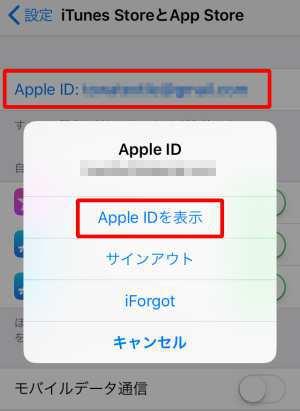 iOS(App Store経由で課金している場合)の支払い情報を編集する2