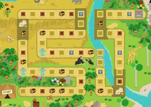 モッピーアドベンチャーⅢのマップ