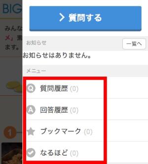 マイページ(スマホ)