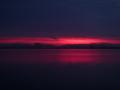 琵琶湖の朝焼け20140916