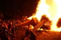 『京都新聞写真コンテスト  勝部の火祭り~轟炎』