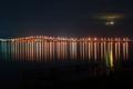 京都新聞写真コンテスト『イーゴスはイズコ~その後の琵琶湖大橋夜景