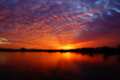 京都新聞写真コンテスト 『平湖の夜明け』