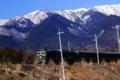 京都新聞写真コンテスト 『比良の暮雪とトワイライトエクスプレス』